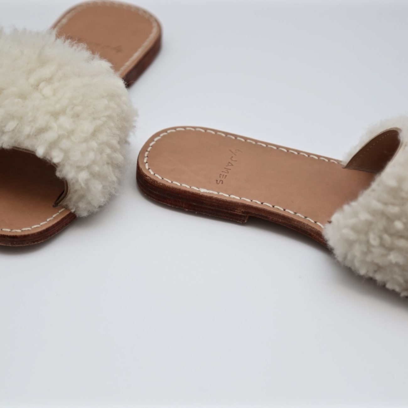 Light Sheepskin Slippers