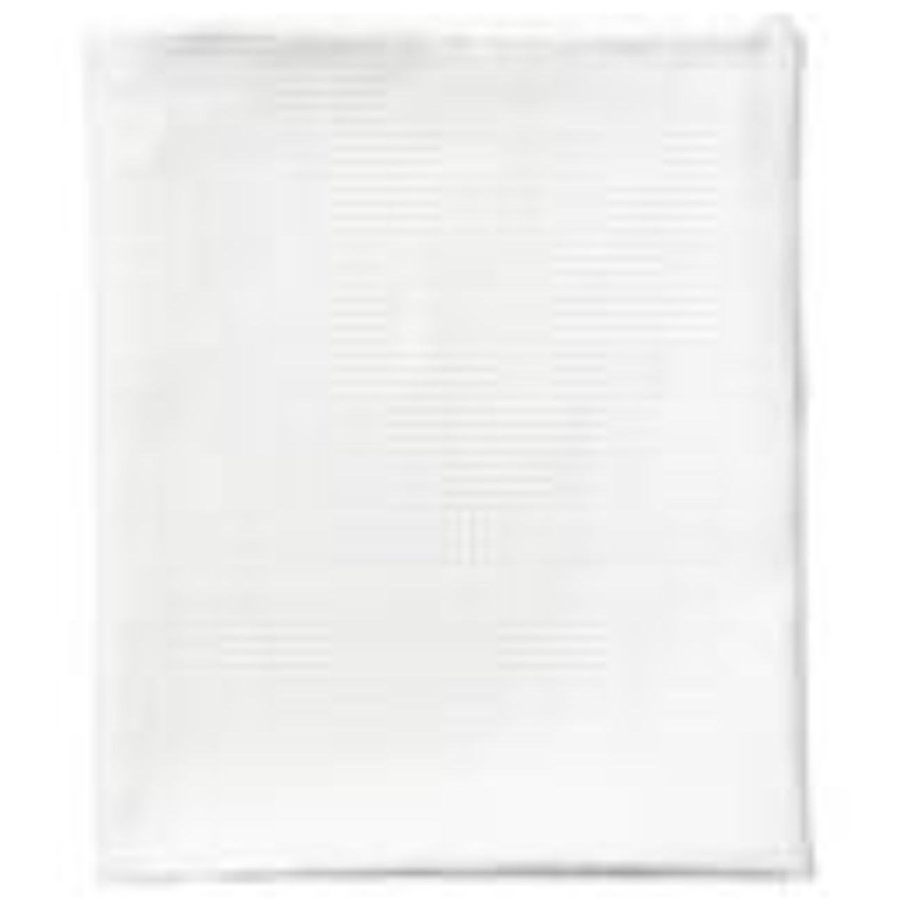 Oversized Linen Waffle Towel, White