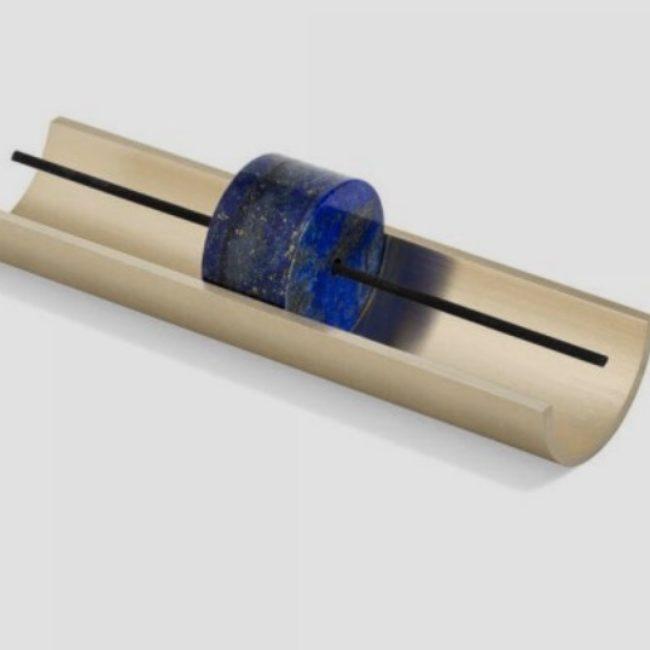 Circa Mineral Incense Holder, Lapis Lazuli