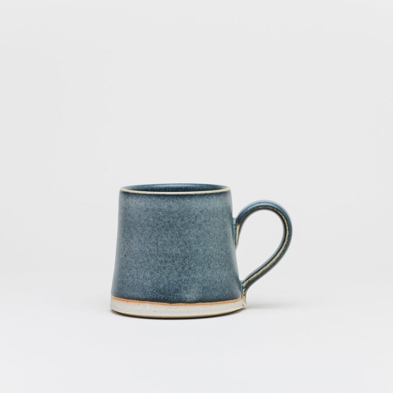 Medium Ceramic Thrown Mug, Ash Matte