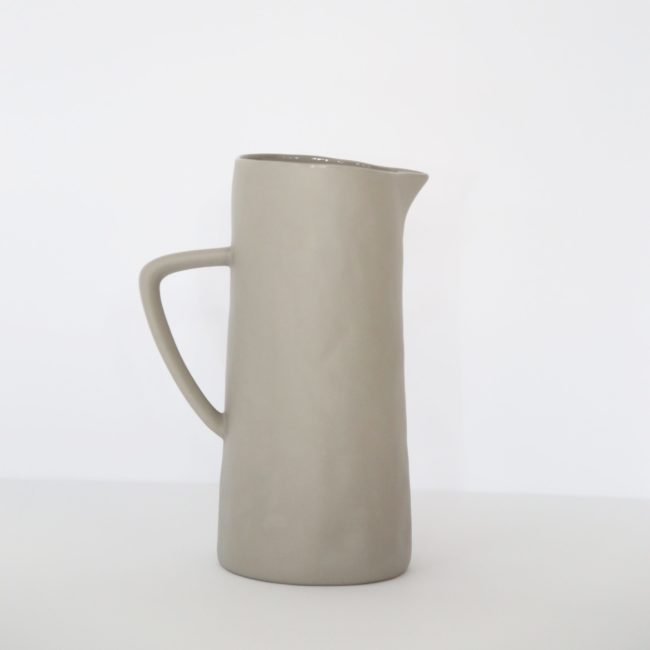 Stoneware Pitcher, Putty