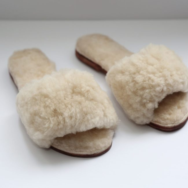 Cozy Sheepskin Slippers