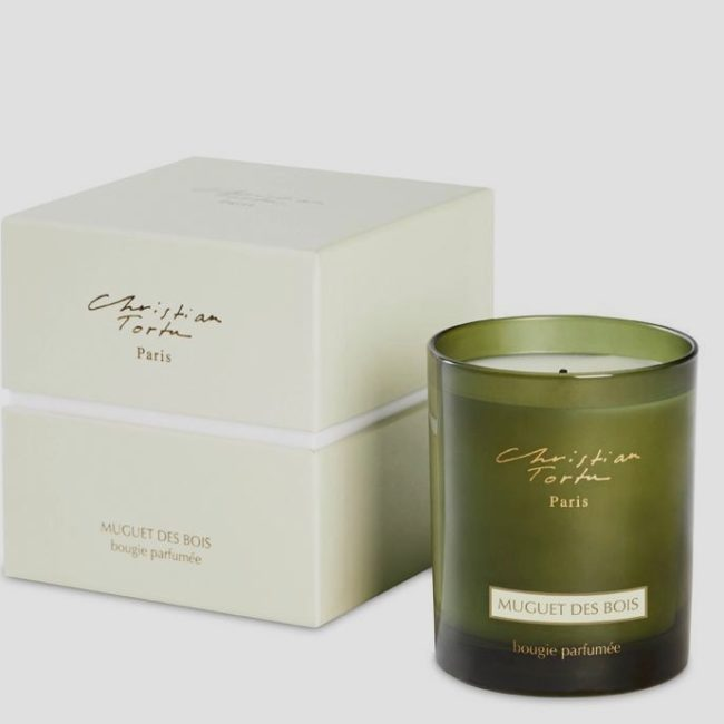 Christian Tortu Lily Of The Valley Scented Candle
