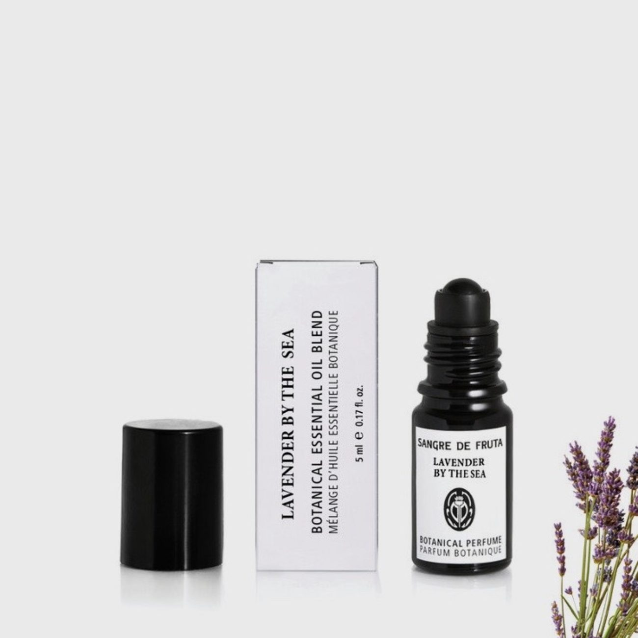 Sangre De Fruta Roll On Essential Oil Perfume, Lavender By The Sea