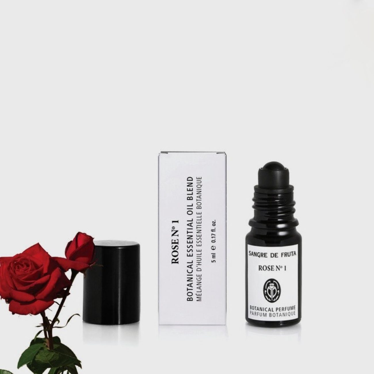 Sangre De Fruta Roll On Essential Oil Perfume, Rose No. 1