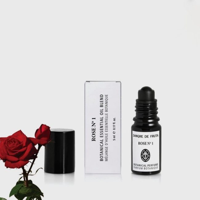 Sangre De Fruta Roll On Essential Oil Perfume, Rose No. 1