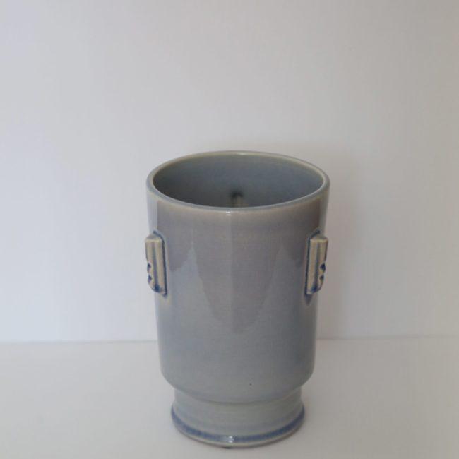 Antique Blue Henri Vase