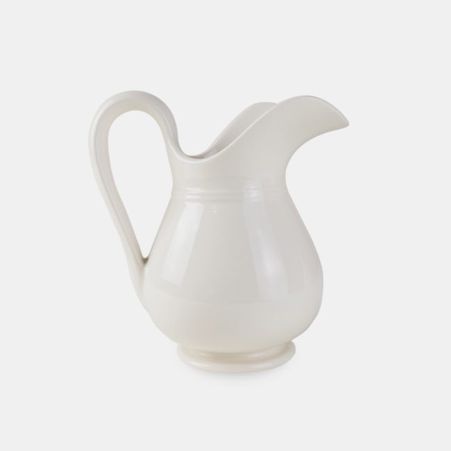 Classic Pitcher, Ivory