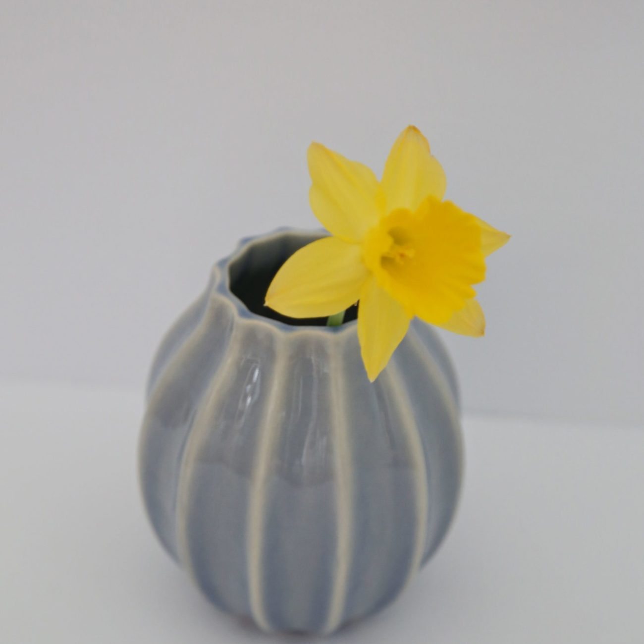 French Blue Small Vase